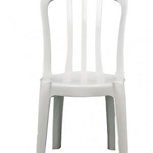 CadeiraPVCbrancasembraço